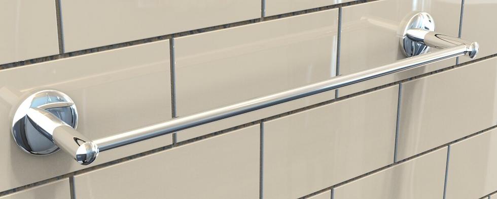 Waterbury single towel rail