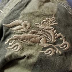 Green Dragon Detail