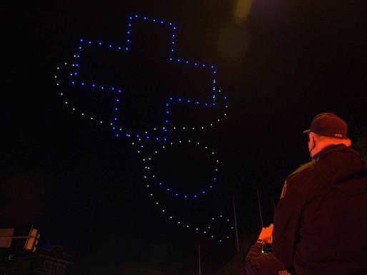 Guayaquil tendrá show de 300 drones por fiestas del Bicentenario