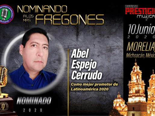 Abel Espejo, CEO de Esuesa & Alpha Musik Biz, recibirá otro premio, esta vez en México