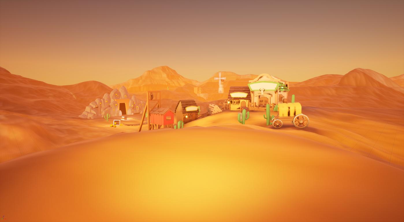 Hub scene