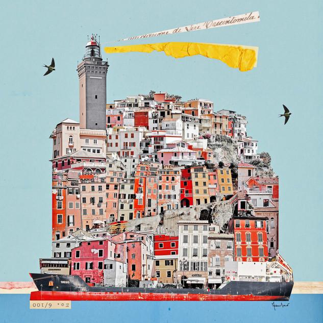 Francesca Sacco - Liguria in una nave