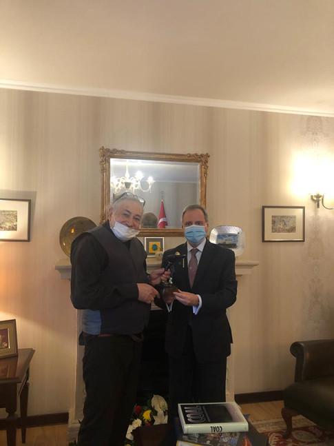 Büyükelçimiz ile, Malta