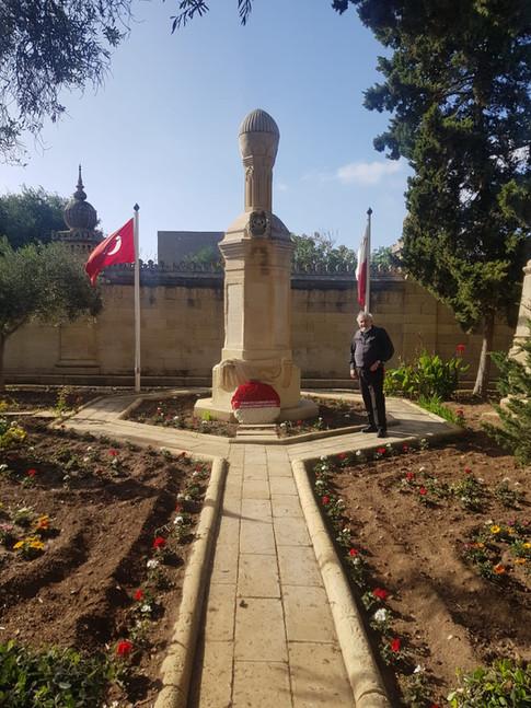 Türk Şehitliği, Malta