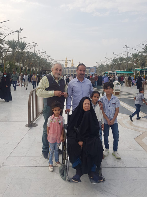 İmam Hüseyin ve İmam Abbas Türbeleri Arasındaki Yol, Kerbela, Irak