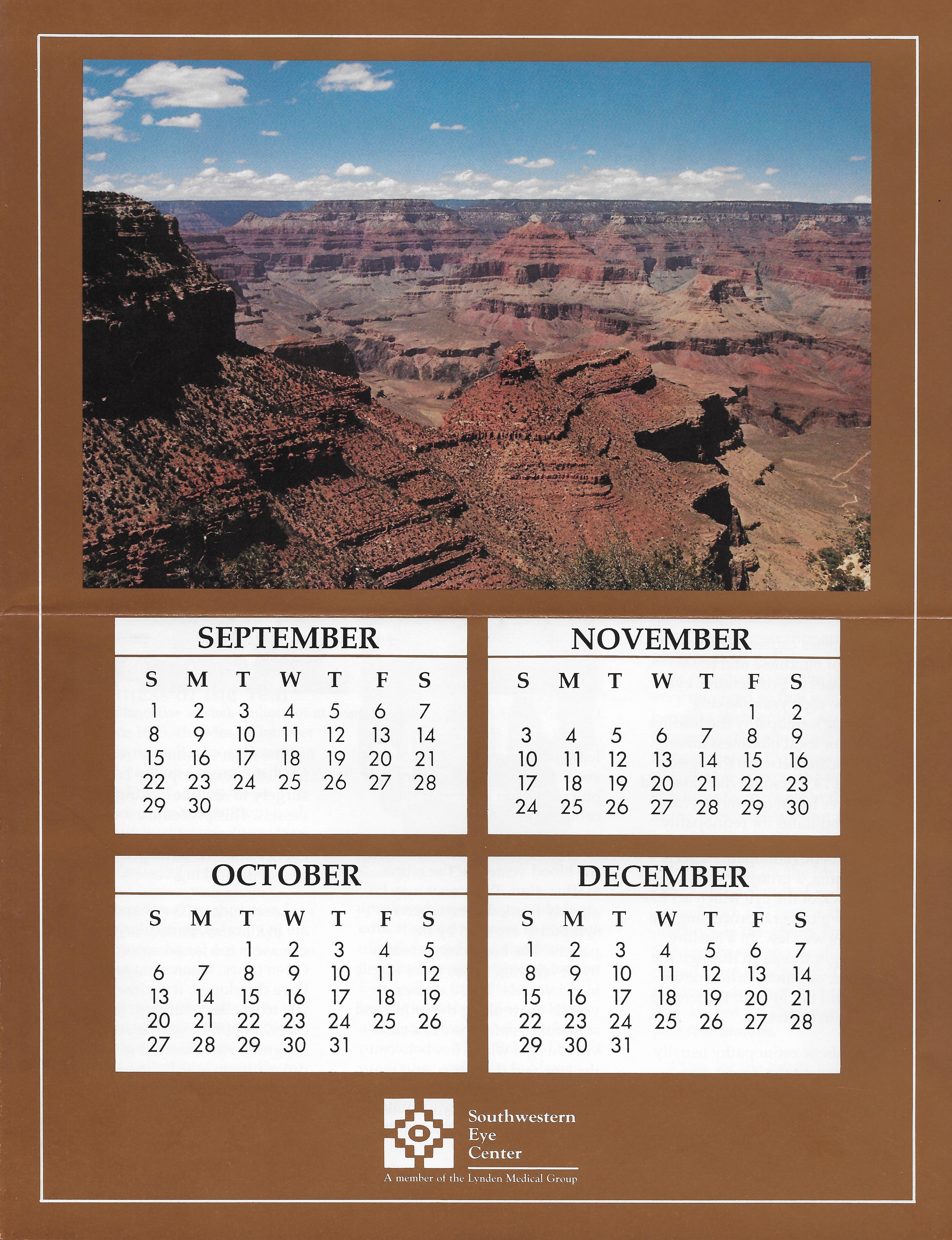 Calendar/Newsletter