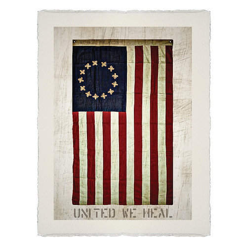 UNITED WE HEAL BR LITHOGRAPH