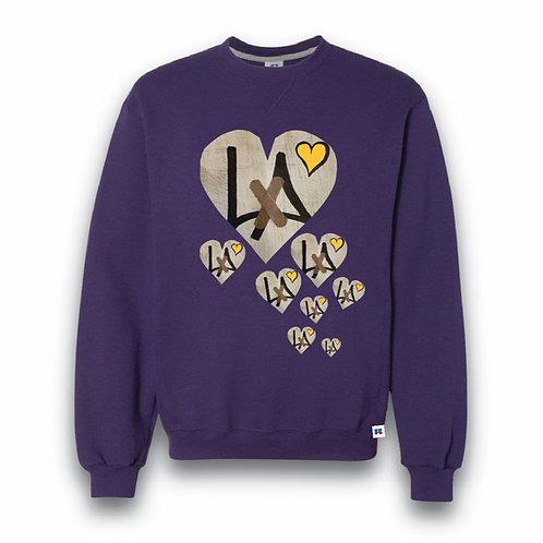 """8"" HEARTS HOMAGE CREW SWEATSHIRT"
