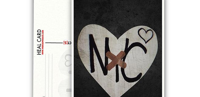 the HEAL CARD NYC  [10PK]