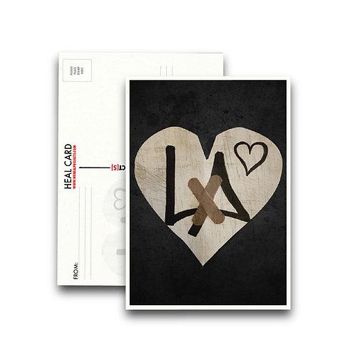 the HEAL CARD LA  [10PK]