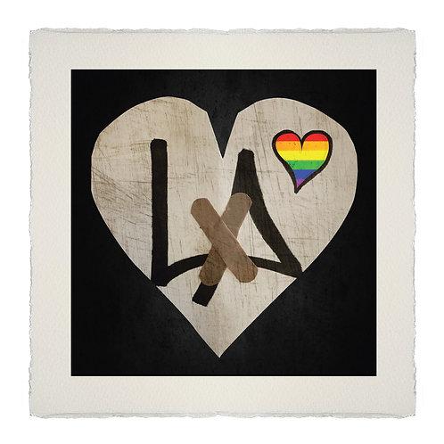 HEAL HEART#3 PRIDE  [LA] LITHOGRAPH
