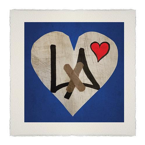 HEAL HEART#2  [LA] LITHOGRAPH