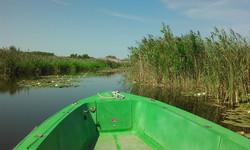 boottocht op het meer