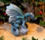 Forsvarer, Andrew Bill, dragons, made in England, UK, sculpture