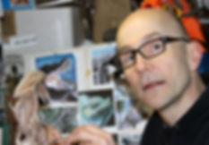 Andrew Bill, Staffordshire Hoarder dragon wax