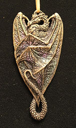 dragon, tree, hanger, Christmas, Andrew, Bill, sculpture, art
