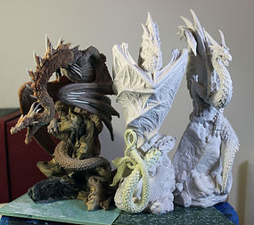 Dragons' Roost, Andrew Bill, Nemess Now, sculpture