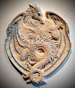 Dragon Plaque 2020 wax