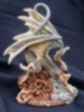 Laidly, Wyrm, dragon, Andrew, Bill, sculpture, art