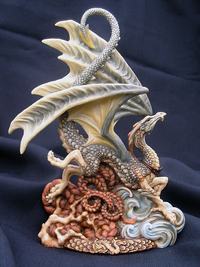 Laidly, Wyrm, dragon, Andrew, Bill, sculpture, art