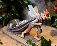 Faerie Jewel Thief, sculpture, Andrew Bill, Made in England, UK