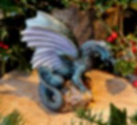 Forsvarer, dragon, Andrew Bill, Defender, sculpture, made in England