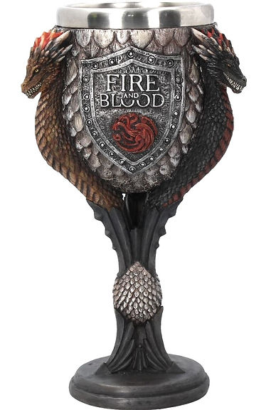 Game of Thrones Targaryen Goblet