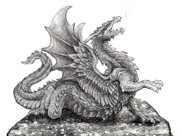 Waking the Dragon sketch