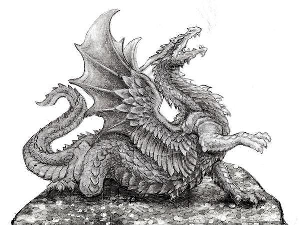 Waking the Dragon sketch