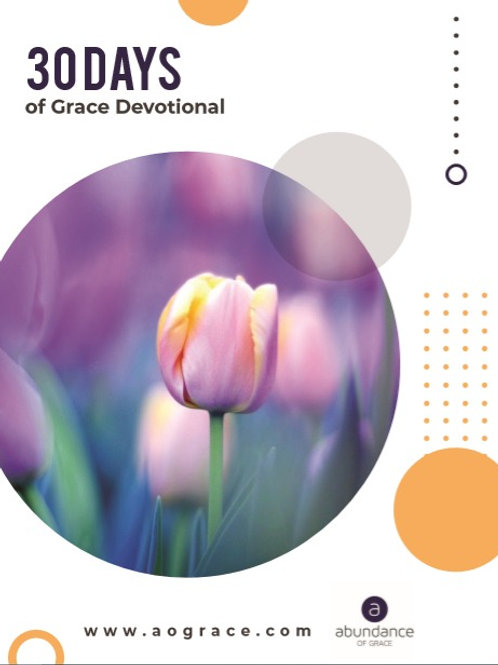 30 Days of Grace Devotional
