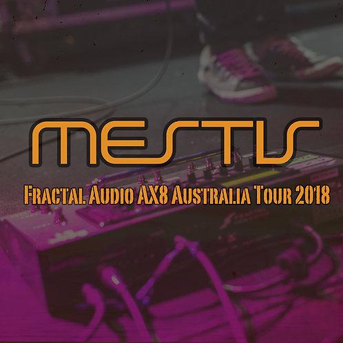 Mestis Australia Tour Ax8 Patches