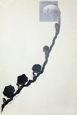 Sisyphus b and w