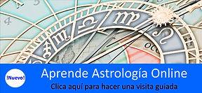 Curso de Astrología Online. Con esta visita guiada conocerás los materiales del curso