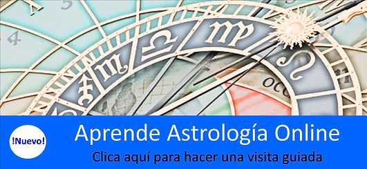Aprende Astrología Online. Visiona los distintos materiales y videos que te irás encontrando en el Curso de Astrología Online.