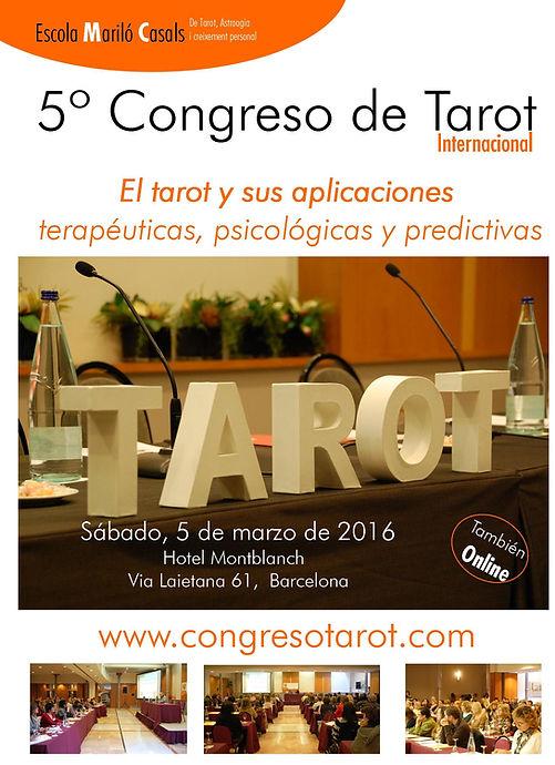 Descarga el díptico de presentación del Quinto Congreso de Tarot