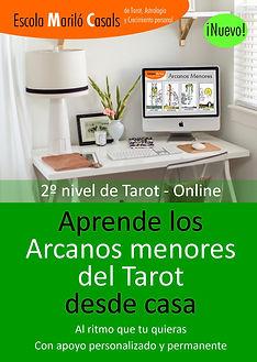 Curso Online de Tarot, aprende los arcanos menores desde casa