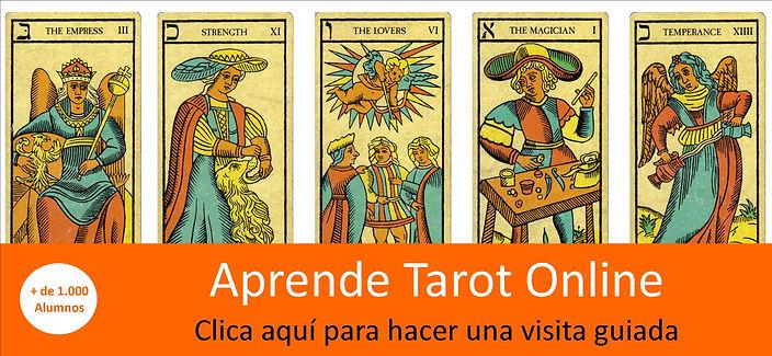 Curso de Tarot Online, Arcanos mayores