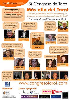 Cartel promocional Tercer Congreso de Tarot