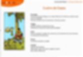 Fichas resumen Tarot Arcanos Menores