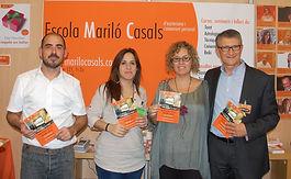 Foto del equipo que dinamiza y gestiona el Campus Online de la Escola Mariló Casals