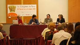 Mesa redona del 1r congreso de Tarot