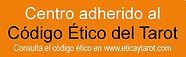 Logo indentificativo de la Escola Mariló Casals como centro adherido al Código ético del Tarot