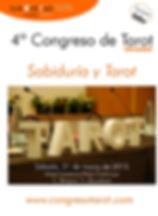 Descarga el díptico del Cuarto Congreso de Tarot