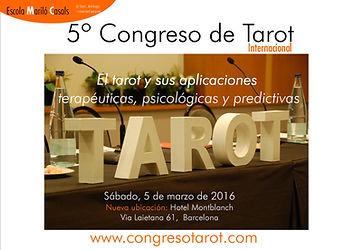Descarga el dossier de presentación del Quinto Congreso de Tarot