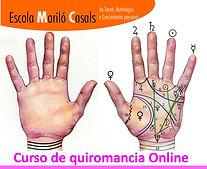 Empezar curso de quiromancia online