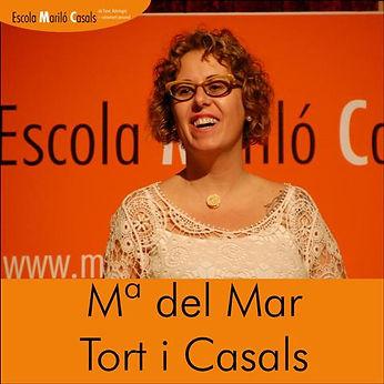 Maria del Mar Tort directora de la Escola Mariló Casals, tarotista y astróloga