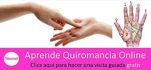 Aprende quiromancia online, visita guiada gratis