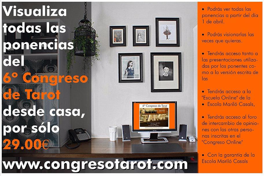 Visualiza las ponencias del Quinto Congreso de Tarot desde Casa