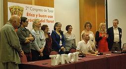 2º Congreso de Tarot, celebrado en Barcelona, el 9 de marzo de 2013, organizado por la Escola Mariló Casals