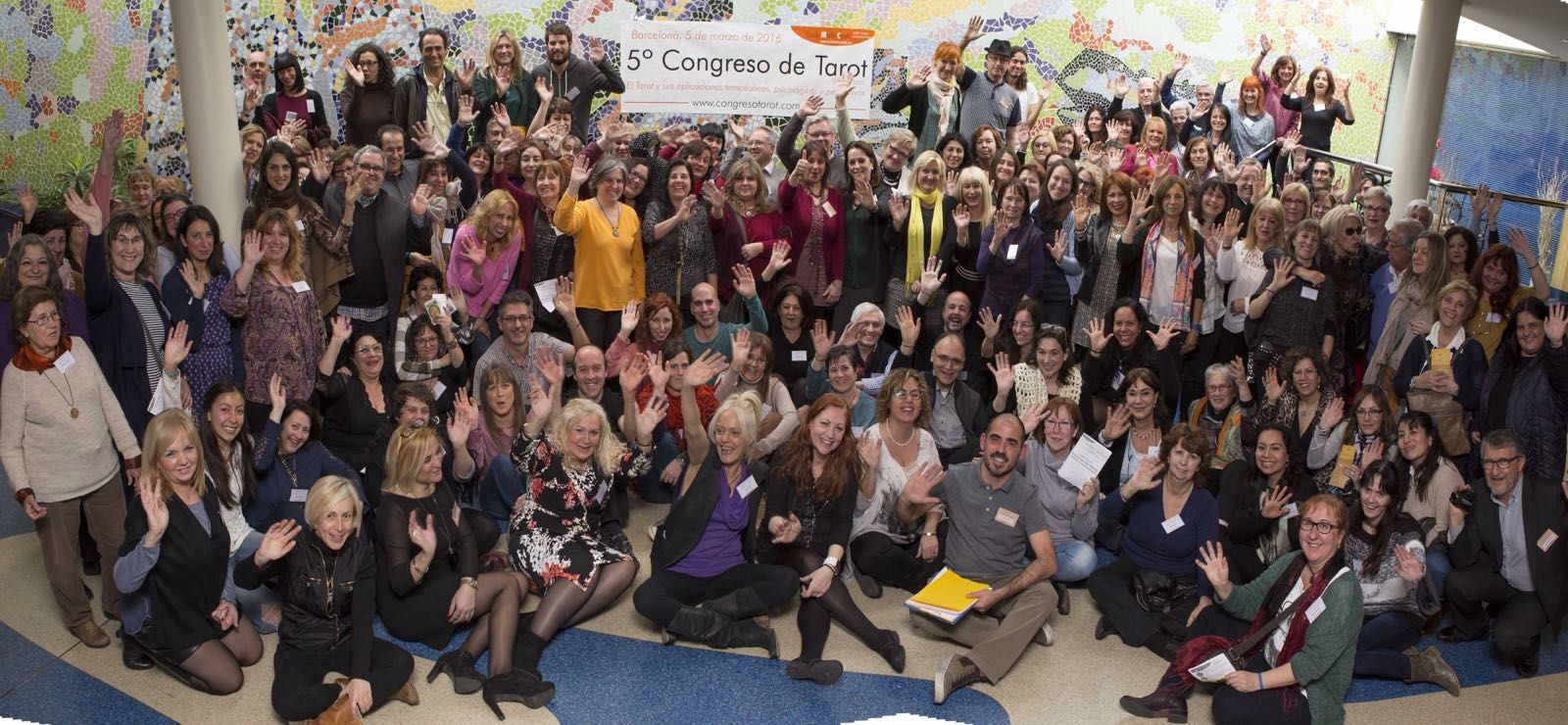 Foto grupo 5 congreso de Tarot